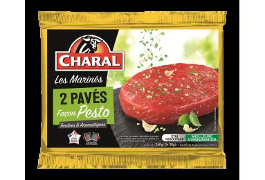 Pavé De Bœuf Façon Pesto - Nos viandes marinées - charal.fr