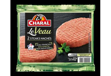 Steak Haché De Veau - Nos hachés à griller - Le Veau - charal.fr