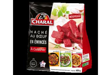 Haché Au Bœuf En émincés Surgelé - Nos hachés à cuisiner - charal.fr