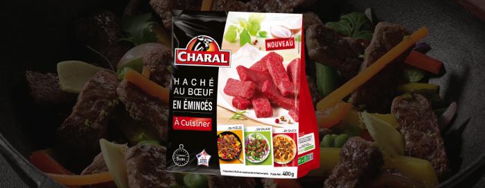 Haché au Boeuf en Emincés à cuisiner - Nos recettes - charal.fr