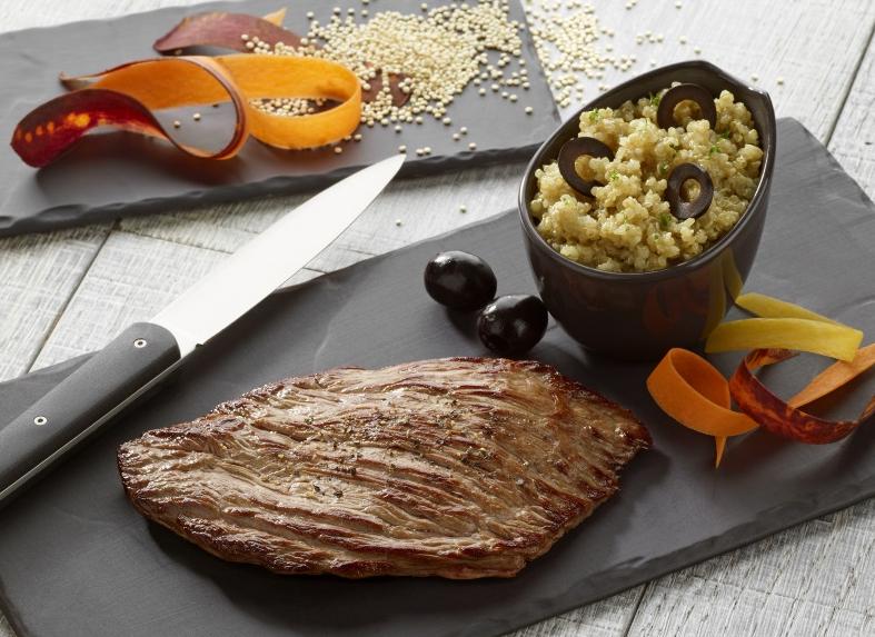 Bavette de Boeuf et son Risotto de Quinoa - Nos recettes - charal.fr