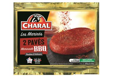 Pavés de bœuf marinade BBQ à griller au barbecue - charal.fr