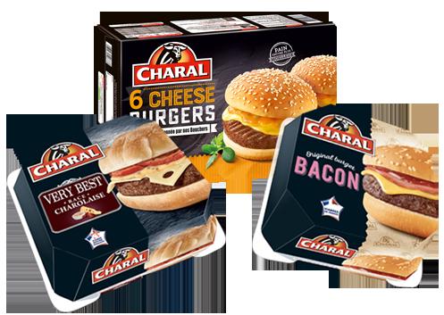 burgers Charal.