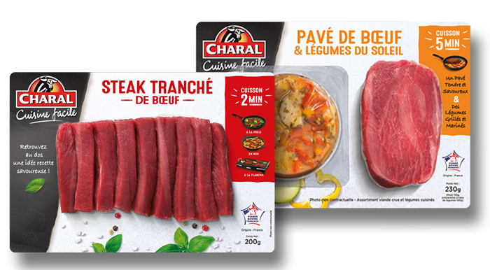 Fiches recette Charal.