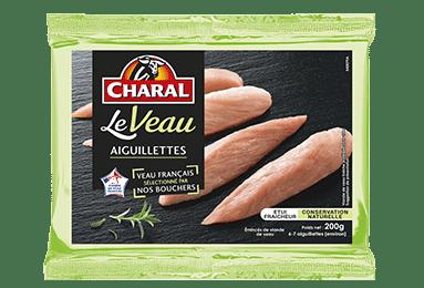 Aiguillettes de veau, cuisson à la poêle - charal.fr