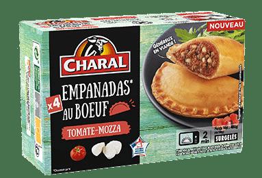 Empanada au boeuf Tomate & Mozarella à réchauffer au micro-ondes - charal.fr