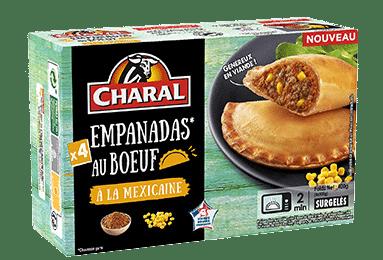Empanada au bœuf à la Mexicaine à réchauffer au micro-ondes - charal.fr